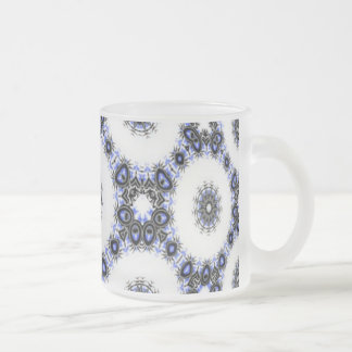 Celtic Snow Frosted Glass Coffee Mug