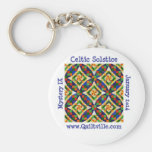 Celtic solstice keychain
