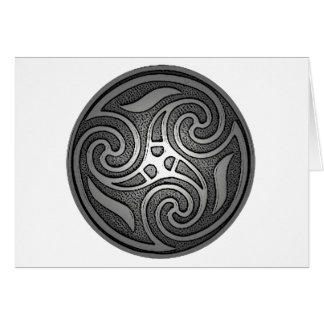 Celtic Spiral Card
