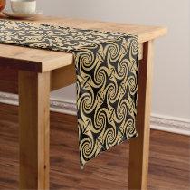 Celtic Spiral Design Pattern Short Table Runner