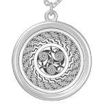Celtic spiral necklaces