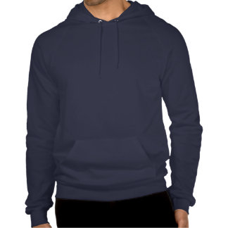 Celtic Spiral Pirate in Blues and Reds Hooded Pullovers