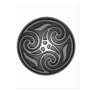 Celtic Spiral Postcard