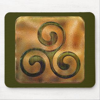 celtic spirals mouse pads