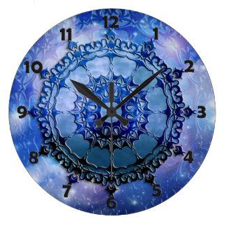 Celtic Spirit Mandala Round Wall Clocks