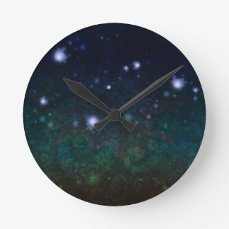Celtic Spirits Round Clock