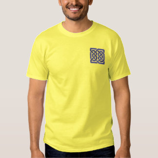 Celtic Square Knot Embroidered T-Shirt