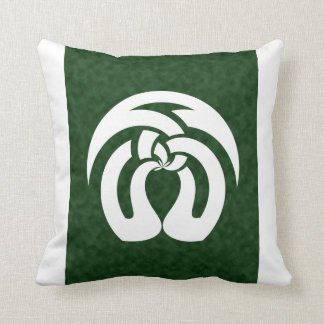 Celtic Square Knot, Kissing Trees Pattern Throw Pillows