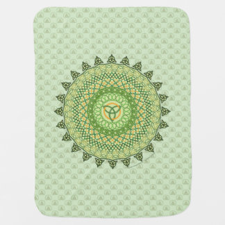 Celtic St. Patty's Day Baby Blanket