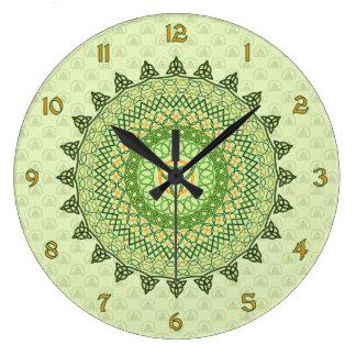 Celtic St. Patty's Day Clock