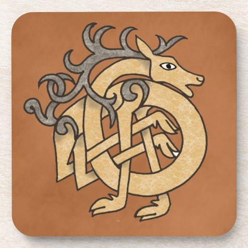 Celtic Stag Coaster
