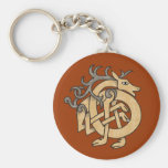Celtic Stag Key Chain