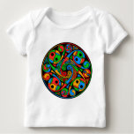 Celtic Stained Glass Spiral Baby T-Shirt