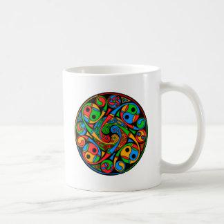 Celtic Stained Glass Spiral Mug