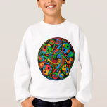 Celtic Stained Glass Spiral Sweatshirt