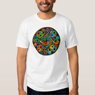 Celtic Stained Glass Spiral Tee Shirt