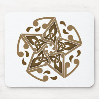 Celtic Star Mouse Pad