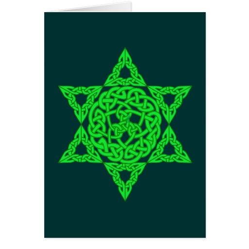 Celtic Star of David Cards