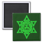 Celtic Star of David Magnets