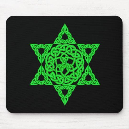 Celtic Star of David Mousepad