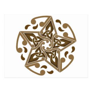 Celtic Star Postcard