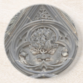 Celtic stone carving coaster