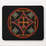 Celtic Style Circle Mouse Pad