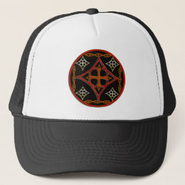 Celtic Style Circle Trucker Hat
