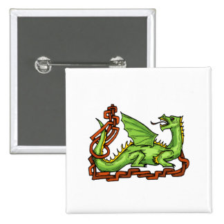 Celtic style dragon and rope.png pin