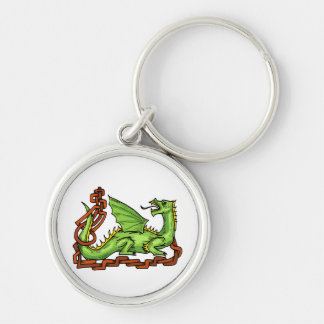 Celtic style dragon and rope.png keychain