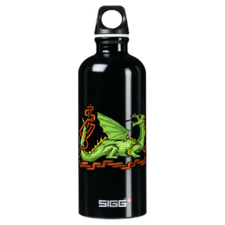 Celtic style dragon and rope.png SIGG traveler 0.6L water bottle