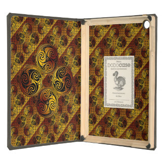 Celtic Style iPad Case Lining Design
