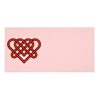 Celtic Style Knotted Heart Card