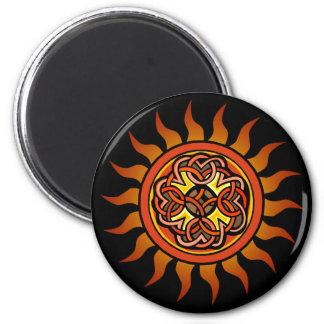 Celtic Sun 4 Imán De Frigorifico