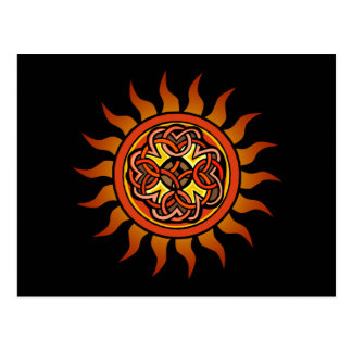 Celtic Sun 4 Postcard