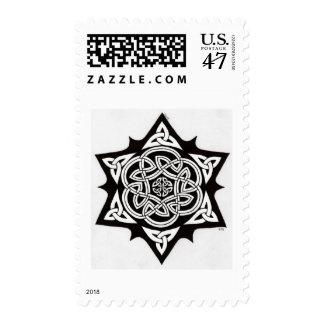 Celtic Sun stamp