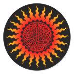 Celtic Sun Sticker