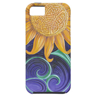 celtic sunflower iPhone 5 case