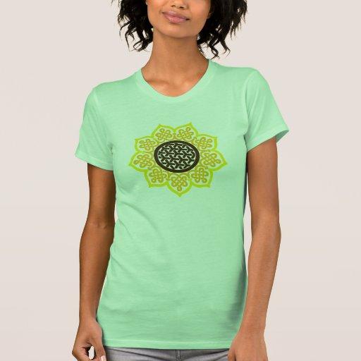 Celtic Sunflower Tee Shirts