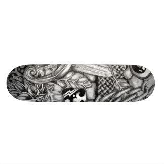 Celtic Surreality Skateboard