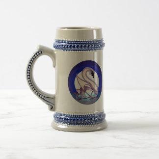 Celtic Swan (2-Sided) Beer Stein