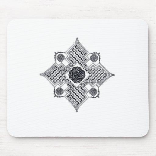 Celtic Swirl Cross Mouse Pads