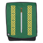 Celtic Sword and Knotwork Backpack