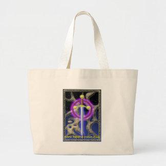 celtic sword jumbo tote bag