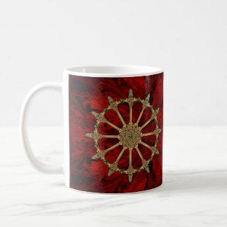 Celtic Swords on Blood Marble Coffee Mug