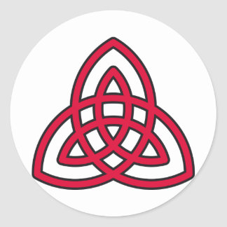 celtic symbol classic round sticker