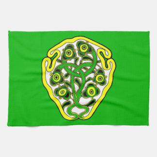Celtic symbol towel