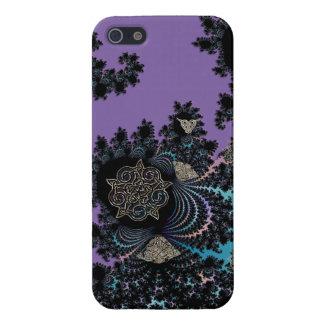 Celtic Symbolic Metal Fractal Collage iPhone SE/5/5s Cover