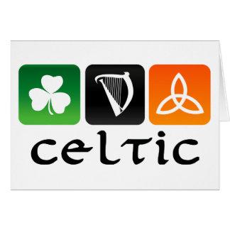 Celtic Symbols Card