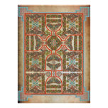 Celtic Symbols Carpet Poster